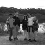 Pictured from L to R: Laureano Clavero's friend, Howell Thomas, Lori Asher, Laureano Clavero and Nancy Rufenacht
